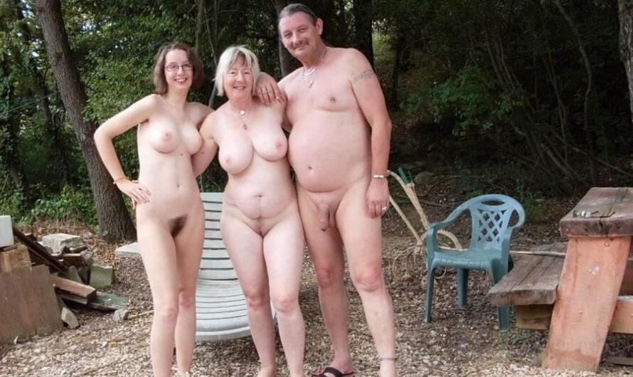 Les vacances échangistes d'Elodie, libertine naturiste